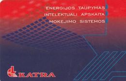 LITUANIA. CHIP. Katra - Economy Saving. LT-LTV-C008. (079). - Lituania