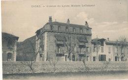 04 // DIGNE   Avenue Du Lycée   Maison Lallement - Digne