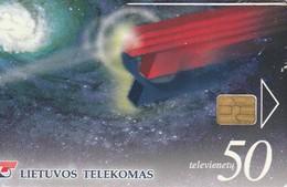 LITUANIA. CHIP. Green Number 800. LT-LTV-C010. (050). - Lituania