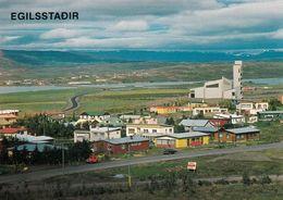 1 AK Island Iceland * Blick Auf Die Stadt Egilsstaðir - Die Größte Stadt Im Osten Von Island * - Island
