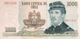 Chile 1.000 Pesos, P-154e (1993) - UNC - Chile