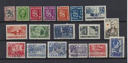Finlande: 1 Lot De 18 Timbres - Finland
