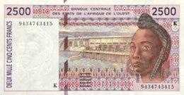 West African States 2.500 Francs, P-712K (1994) - UNC - Senegal - Westafrikanischer Staaten