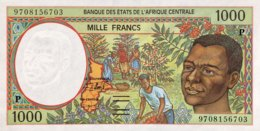 Central African States 1.000 Francs, P-602P (1997) - UNC - Chad - Zentralafrikanische Staaten