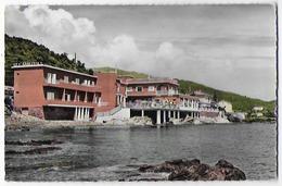"""Cpsm Bon Tat , 9x14cm  Bon Etat  Haute Corse , Santa-maria-dilota , Miomio Plage  """"hôtel Les Sablettes""""  Carte Rare - France"""