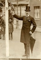 STRATFORD ON AVON SHAKESPEARE'S DAY NORWEGIAN MINISTER  16*12 CM Fonds Victor FORBIN 1864-1947 - Sin Clasificación