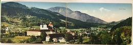 AK  SLOVENIA   GORNJI GRAD  DOUBLE POSTCARD  1912. - Slowenien