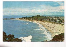 REF 379 : CPSM Nouvelle Zelande New Zeeland Bay Of Plenty Ocean Beach Mount Maunganui - New Zealand