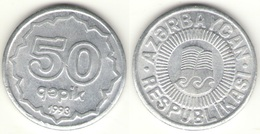 Azerbaijan - 50 Qapik 1993 UNC Bank Bag Aluminum - Aserbaidschan