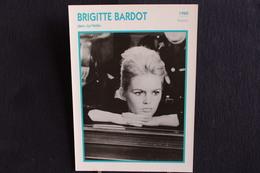 Sp-Acteur/ 1960 - Brigitte Bardot - Née Le 28 Septembre 1934 à Paris, Est Une Actrice De Cinéma, Mannequin, Chanteuse - Attori