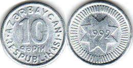 Azerbaijan - 10 Qapik 1992 UNC Bank Bag Aluminum - Azerbaiyán