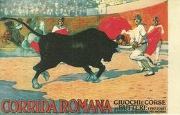 Corrida Romana, Giuochi E Corse Di Butteri, Riproduzione D41, Reproduction, Illustrazione - Corrida