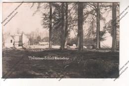 Rare CARTE PHOTO Militaria WW1 : Trümmer Schloss Warneton (Comines Belgique 1915 Destruction) - Guerra 1914-18