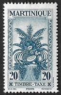 MARTINIQUE  1933  -  Taxe 14  - NEUF* - - Martinique (1886-1947)