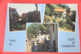 Genova Alpe Di Gorreto Vedutine NV - Andere Steden
