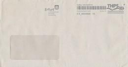 BRD Erfurt Privatpost 2018 THPS Wappen Rad Landeshauptstadt Thüringen - Briefe U. Dokumente