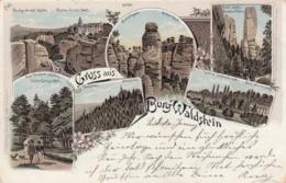 AK - Polen - Schlesien - Gruss Aus Burg Waldstein - Litho - 1899 - Polen