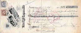 Aalst; 1901 Wissel Uitgeschreven Door De Maalderij/graanbedrijf  Weduwe  De Wolf-Cosijns - Historische Dokumente