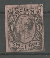 Sachsen 9 II A Gest. - Saxony