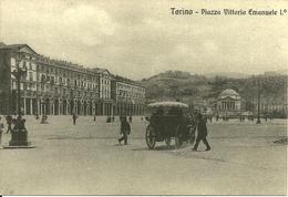 Torino (Piemonte) Piazza Vittorio Emanuele I°, Riproduzione D44, Reproduction - Piazze