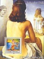 S. TOME E PRINCIPE 2004 - Salvador Dali - BF - Nus