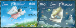 SAN MARINO 2010 - Europa - Livres Pour Enfants - 2 V. - Neufs