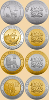 Kenya 4 Coins Set 2018 - Kenia