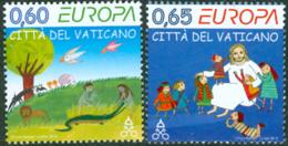 VATICAN 2010 -  Europa 2010 - Illustrations Pour Enfants - 2 V. - Vatican