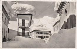 SWITZERLAND-SCHWEIZ-SUISSE-SVIZZERA-AIROLO=INVERNO=-CARTOLINA VERA FOTOGRAFIA VIAGGIATA IL 11-12-1956 - TI Tessin