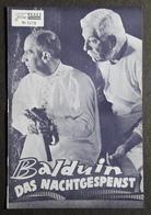 """LOUIS DE FUNES / JEAN GABIN Im Film """"Balduin, Das Nachtgespenst"""" # NFP-Filmprogramm Von 1969 # [19-26] - Zeitschriften"""