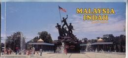 MALAYSIA INDAH - KUALA LUMPUR. 20 POSTALES COLOR. PHOTOSET. CIRCA 1980's -LILHU - Malaysia
