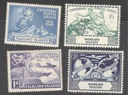 FALKLAND I.1949:UPU Michel98-101 Mnh** Cat.Value $25 - Falkland Islands
