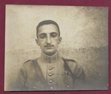 130819A - PHOTO MILITARIA Militaire 38 Au Col - Militaria Guerre 1914 18 - Krieg, Militär