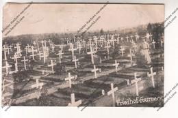 CARTE PHOTO Militaria WW1 : Friedhof Fournes (59) (cimetière, Soldat Allemand, Tombes) Kriegsgef.Arb.Batl32 Feldpost 403 - Guerre 1914-18