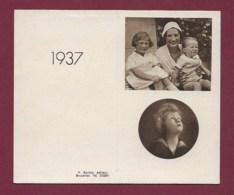 130819A - CALENDRIER 1937 ROYAUTE BELGIQUE Reine Enfant - Calendari