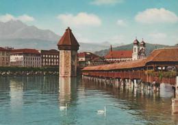 Postcard - Luzern - Kapellbruke,no Card No. - Posted 22nd Aug 1969 Very Good - Unclassified