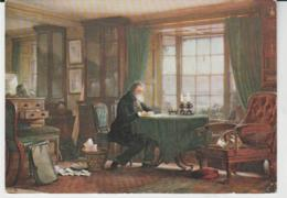 Postcard - Art - W.G. Collingwood - John Ruskin, In His Study, No Card No.  - Unused Very Good - Unclassified
