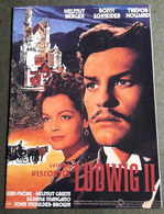 "ROMY SCHNEIDER / Helmut Berger / Trevor Howard Im Film ""Ludwig II."" # NFB-Filmprogramm (8 Seiten) # [19-14] - Film & TV"