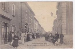 Saône-et-Loire - Dompierre-les-Ormes - Grande Rue - France