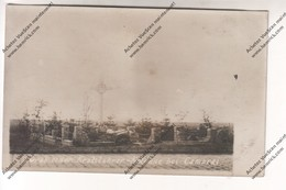 CARTE PHOTO Militaria WW1 CAMBRAI (59) : Grab Einer Kraftfahrer-kolonne Bei Cambrai (monument Aux Morts) - Guerre 1914-18