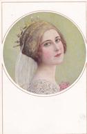 Liberty  -  Ritratto Di Una Giovane Con Grandi Occhi -  Edit. M. MUNK, Wien  ,  Nr.  915 - Illustratori & Fotografie