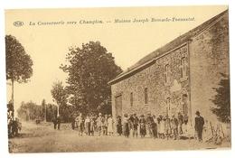 2 -La Converserie Vers Champlon - Maison De Joseph Remacle-Toussaint - Tenneville