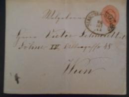 Hongrie Lettre De Diakovar 1894 Pour Wien - Hungary