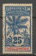 COTE D'IVOIRE N° 27 OBL - Côte-d'Ivoire (1892-1944)