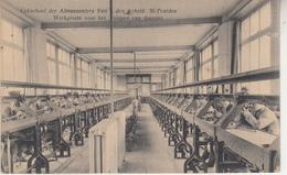 Vakschool Der Aalmoezeniers Van Den Arbeid, Sint-Truiden - Werkplaats Voor Het Slijpen Van Diamant - Ecoles