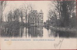 Melle Chateau De Potter D' Indoye Vue De La Route De Bruxelles - Melle