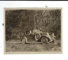 Photo Amateur 8/10 Renault KZ 1924 10 CV  8/10 Traces Colle Au Dos - Automobile