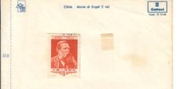 CINA 1955 Engels  8f Usato Cod.fra.1191 - 1949 - ... Repubblica Popolare
