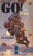 Go Roger Le Sage Paras Parachutistes Parachutiste  3e Bataillon Colonial De Commandos Indochine 1954 - Francese