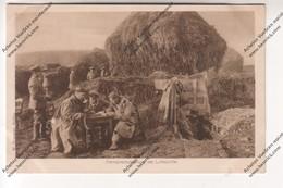 CPA Militaria: Section Téléphonique Dirigeables (fernsprechabteilung Der Luftschiffer)(Kgf.arb.batl.32 -feldpost 403) - Guerra 1914-18